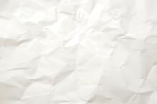 しわになった紙のテクスチャ