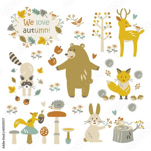 Fotografie, Obraz  We love autumn