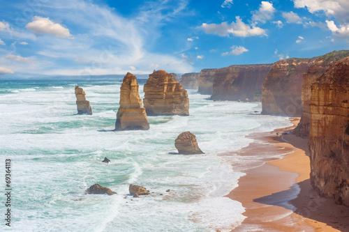 In de dag Australië Twelve Apostles