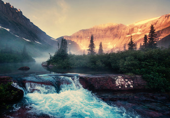 fototapeta Stany Zjednoczone Ameryki Glacier Park