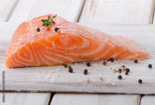 Canvas Prints Fish Salmon