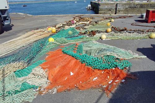 Fotografia, Obraz  filets de pêche