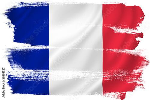 Plagát  France flag