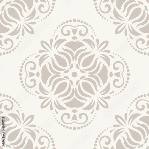 Fotografía  Orient Seamless  Pattern. Abstract Background
