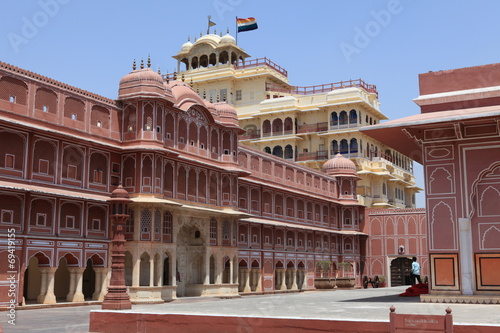 Photo sur Toile Europe Centrale City Palace in Jaipur Indien