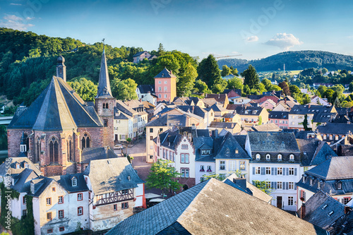 Town of Saarburg, Germany