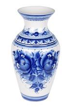 Gzhel Vase, Isolated