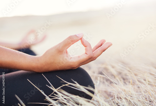 Photo  Yoga Woman Meditation