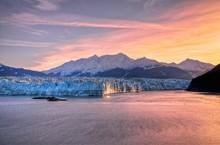 Sunrise At Hubbard Glacier Ala...