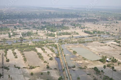 Foto  Камбоджа с высоты птичьего полета