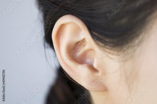 Tablou Canvas Ear of  women