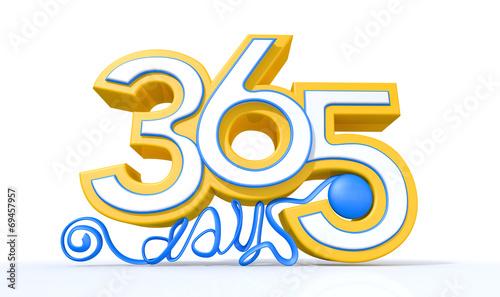 Fotografia, Obraz  Three Hundred And Sixty Five Days