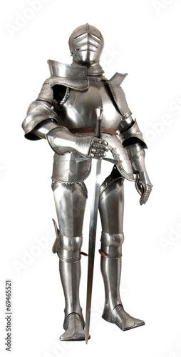 In de dag Retro knight