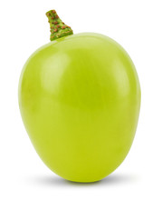 One Green Grape  Isolated On T...