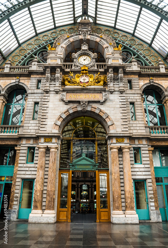 Central Station, Antwerpen, Belgium