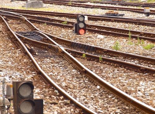Fotografie, Obraz  Railway tracks