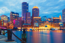 Boston Harbor And Financial Di...