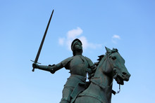 Old Monument Of Jeanne D'Arc (...