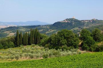 Fototapeta na wymiar Italien - Toscana