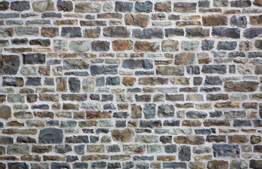 FototapetaOld brick or stone wall background