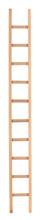 High Long Wooden Ladder