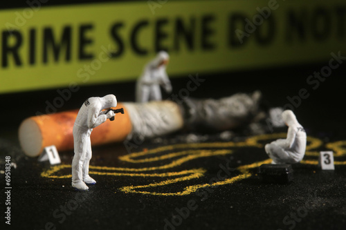 Photo Tiny Miniature Scaled People in Curious Concepts
