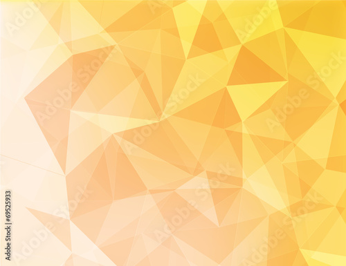 abstract background of yellow and orange color
