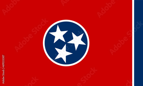 Photo  Flag of Tennessee