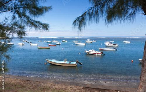 Deurstickers Australië lagon des îles