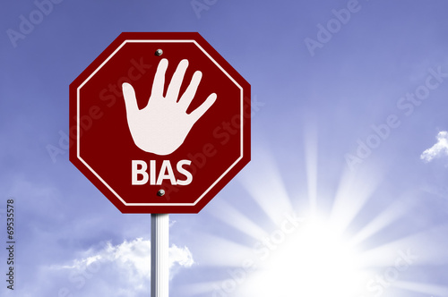 Photo Stop Bias red sign with sun background