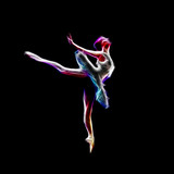 Koncepcja tańca baleriny - 69538574