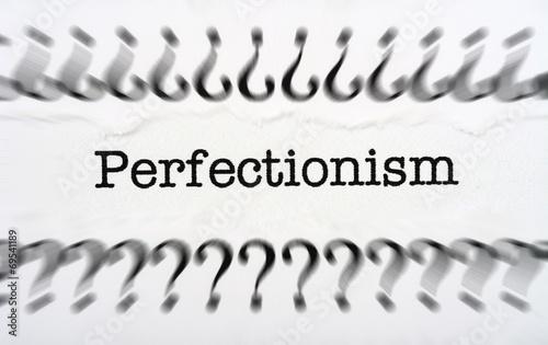 Cuadros en Lienzo Perfectionism