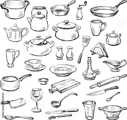 Fotografia  kitchenware