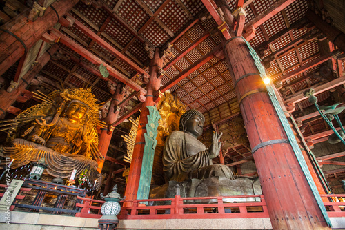 Wall Murals Place of worship NARA, JAPAN - MARCH 12, 2012: Todaiji temple (location of Great