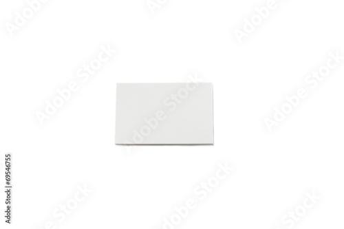 Visitenkarten Stapel Papierblock Mit Papier Textur Leer