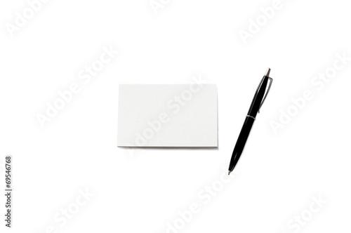 Visitenkarte Papier Stapel Mit Kuli Papier Textur Buy