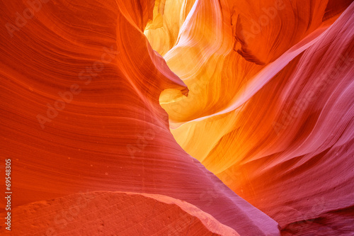 Garden Poster Cuban Red Antelope Canyon Page Arizona