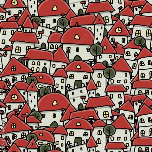 miasto-szkic-wzor-dla-swojego-projektu