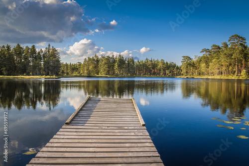 Fotografía  Swedish Lakeview