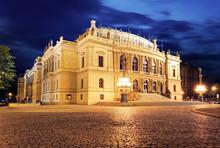 Rudolfinum, Music Auditorium In Prague, Czech Republic