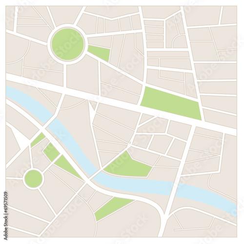 Fotografía  Street map