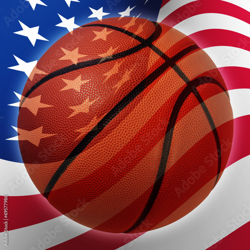 Fotografiet  American Basketball