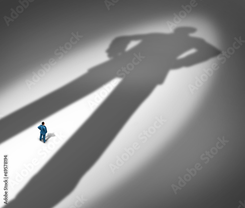 Under A Shadow Canvas Print