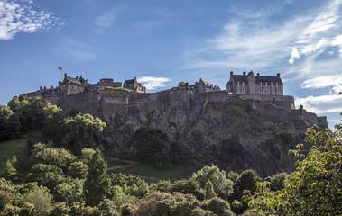 Fototapeta na wymiar Edinburgh Castle