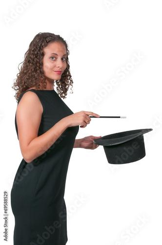 Fotografie, Obraz  Woman Magician