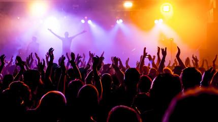 fototapeta  koncert rockowy