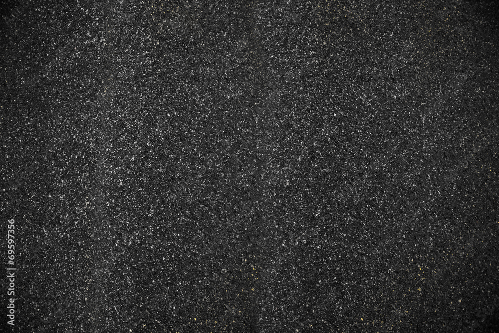 Fototapeta black clear asphalt texture background