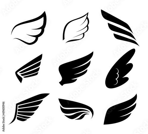 Wings design Tapéta, Fotótapéta