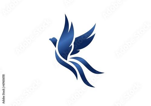Birdlogoflyinghawkeaglewingsphoenixiconsymbol Buy This