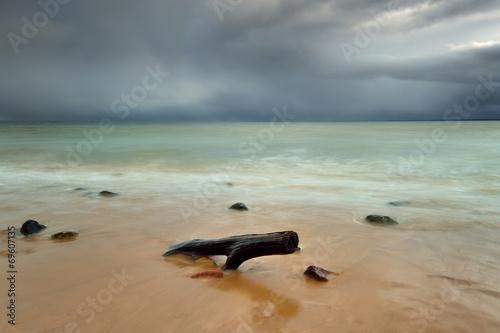 Fotobehang - Krajobraz Morski, morze, plaża